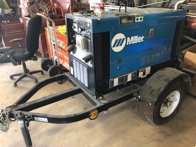 Miller welding trailer