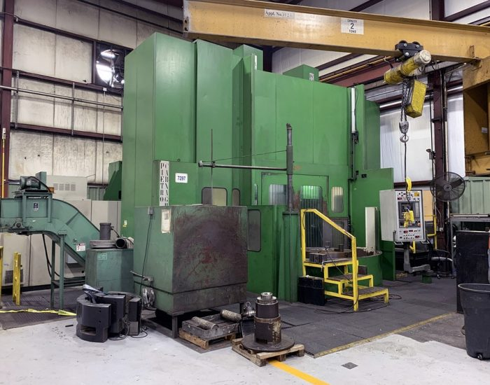 PIETRO CARNAGHI MODEL AC16TT 4 AXIS TWIN PALLET CNC VERTICAL BORING MILL (1)